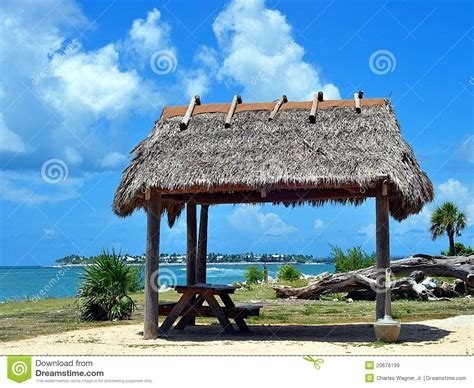 Tiki Hut Thatch Roofing thatched roof tiki hut royalty free stock images image 20676199