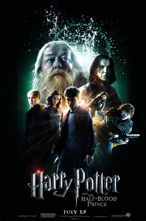 harry potter and the half blood prince 2009 full cast hp 6 poster by hobo95 on deviantart