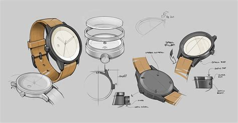 design concept quality simple watch co on behance