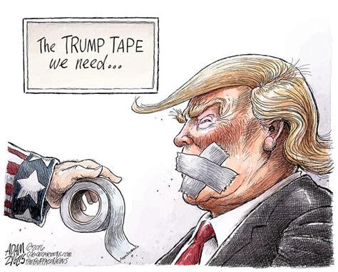 trump cartoon the vulgarian 10 11 2016 cartoon by adam zyglis