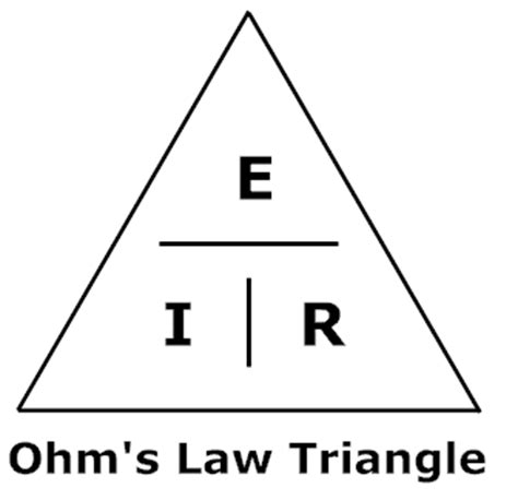 ohm s formula triangle calculating led light and resistors how to