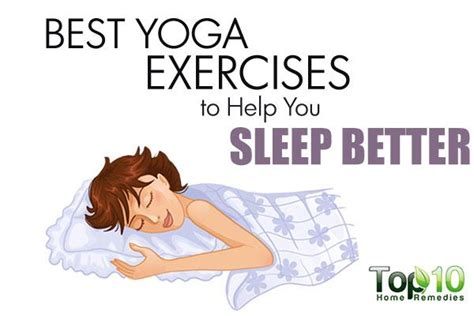 6 Remedies To Help You Sleep Better by Best Exercises To Help You Sleep Better Page 2 Of 3