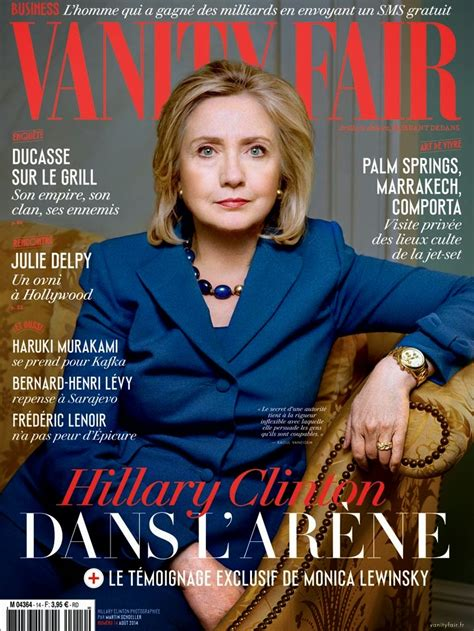 Vanity Fair Magazine 2014 by Clinton Vanity Fair Magazine August