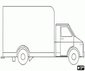 side view of a truck to decorate coloring page printable game