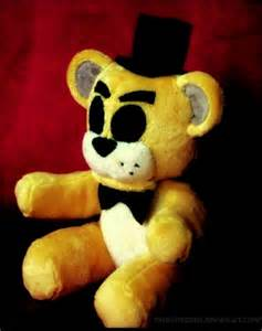 Golden freddy plushie tumblr