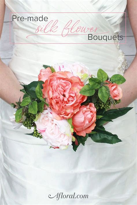 Pre Made Bridesmaid Bouquets by 25 Best Ideas About Artificial Wedding Bouquets On