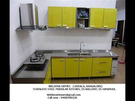 stainless steel kitchen cabinets in kerala stainless steel modular kitchen kerala 9400490326