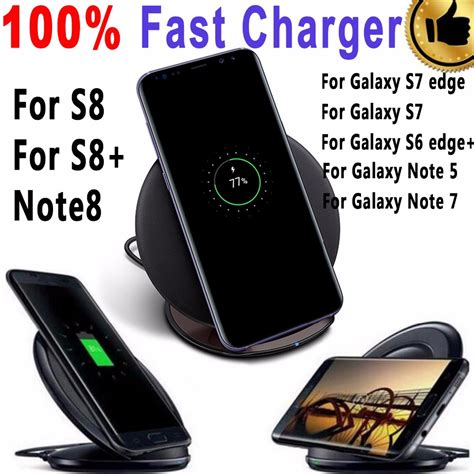 Charger Samsung Note 4 Note 5 S6 S7 Zenfone 2 Fast Charging Original 100 original qi genuine fast charger for samsung galaxy s6 s7 edge plus s8 plus wireless