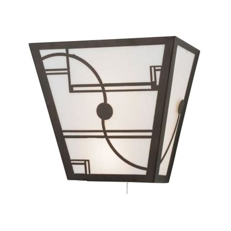 Pull Chain Wall Sconce Meyda Lighting 16 Quot W Revival Deco W Pull Chain Wall Sconce Ships Free