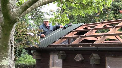 roof  shed  onduline corrugated roofing