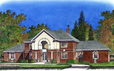 french manor house plans french country manor 43034pf architectural designs