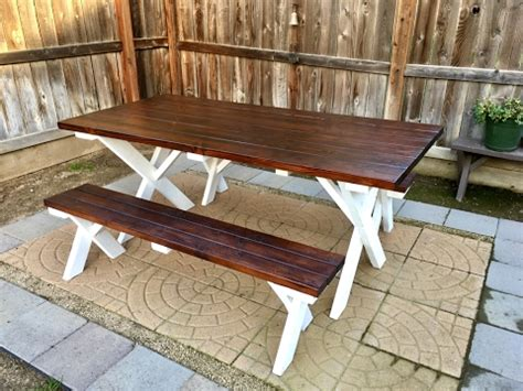 cheap outdoor picnic tables diy outdoor patio table inexpensive