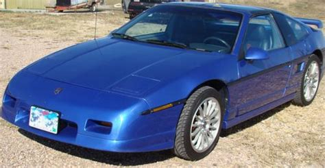 best car repair manuals 1987 pontiac fiero spare parts catalogs buy used 1987 fiero gt t top with gm lm1 v 8 conversion in keystone south dakota united states