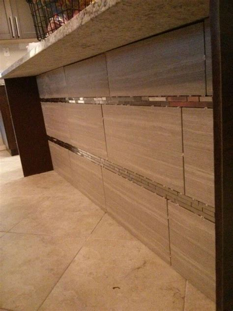 12x12 tiles for kitchen backsplash underneath kitchen island sink area this is the