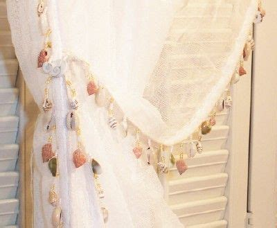 seashell sheer curtains pin by tammy wood on interior creation pinterest