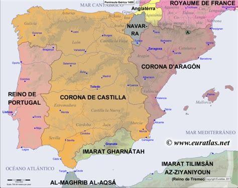 iberian peninsula on map map of the iberian peninsula in the year 1400