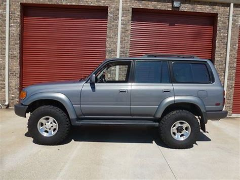 1996 land cruiser lifted sell used 1996 toyota landcruiser with lockers 3 inch lift