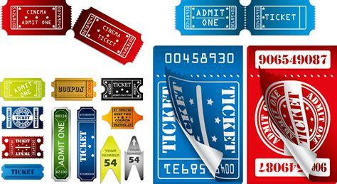 ticket template for adobe illustrator ヨーロッパ調のチケット テンプレート european ticket template イラスト素材 ai