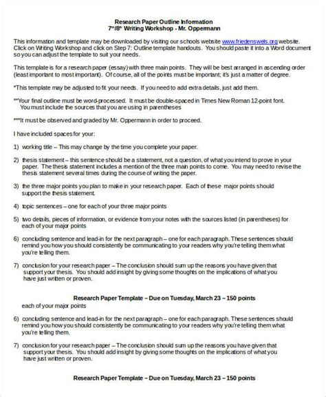 research papers pdf free research paper template 9 free word pdf documents