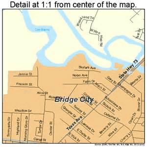 bridge city map bridge city map 4810252