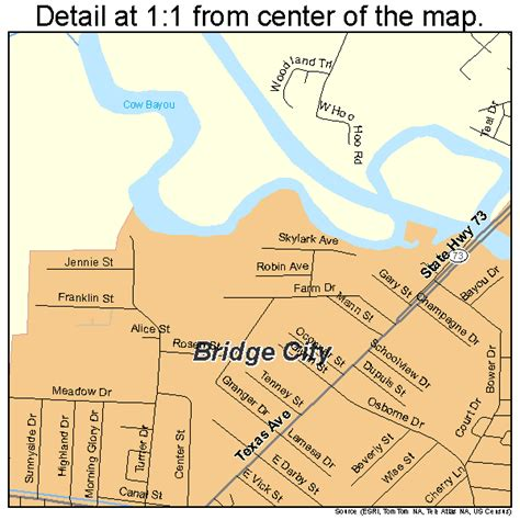 bridge city texas map bridge city texas map 4810252
