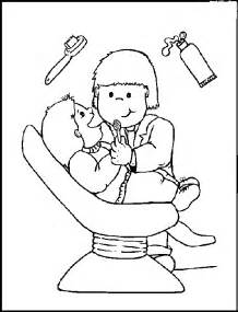 animations a 2 z coloring pages of dental health - Dentist Coloring Pages