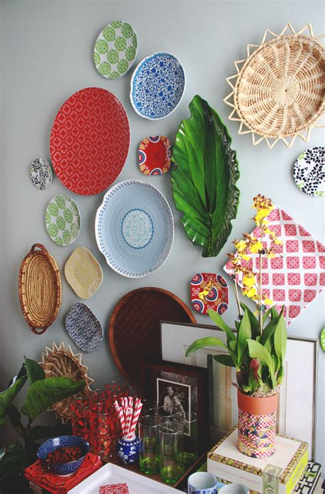 how to put stuff on wall without nails dinnerware rogue how to hang a plate wall