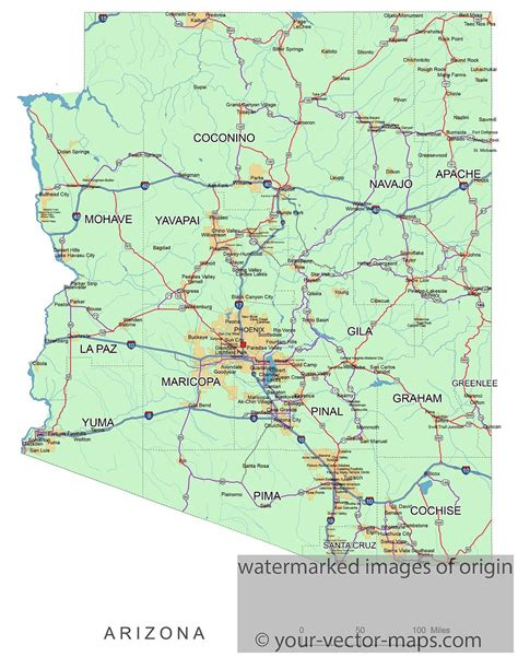 asu major maps arizona state map with counties and cities pictures to pin