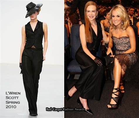 Catwalk To Carpet Kidman by Runway To 2010 S Choice Awards Kidman In L