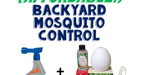backyard pest control live and learn diy affordable backyard mosquito control