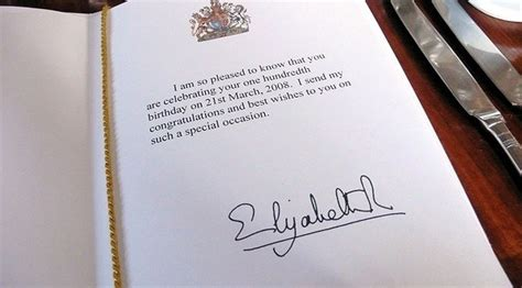 Wedding Anniversary Card From Buckingham Palace by A Royal Tradition The S 100th Birthday Messages