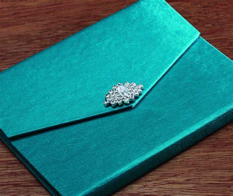 diy silk wedding invitations silk folio jeweled clasp invitation ranjeep letterpress