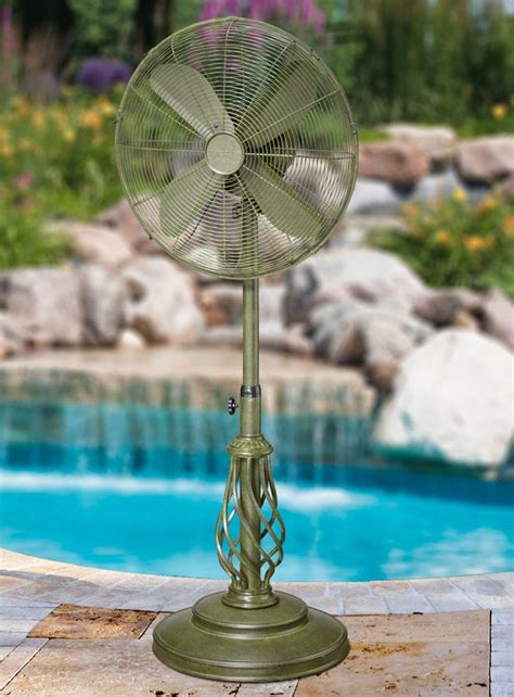 Outdoor Standing Fans Patio by Dbf1081 Dynasty Outdoor Patio Fan Floor Standing Outdoor