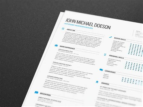 best resume format docx best free clean resume templates in psd ai and word docx format