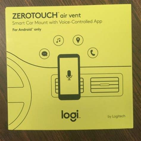 Smart Car Giveaway - giveaway zerotouch smart car mount w voice control from logitech gay nyc dad