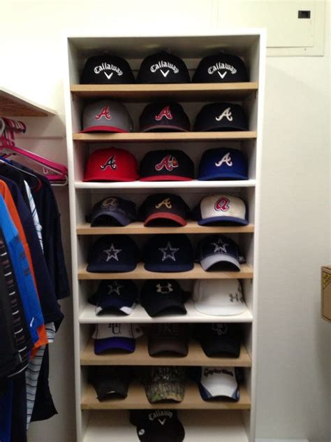 hat hanger ideas baseball baseball caps and hats on pinterest