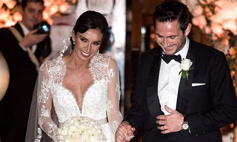 Christine Bleakley and Frank Lampard tie the knot in
