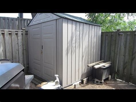 Rubbermaid Shed Assembly by Rubbermaid 7x7 Shed Assembly Storage Shed Deals