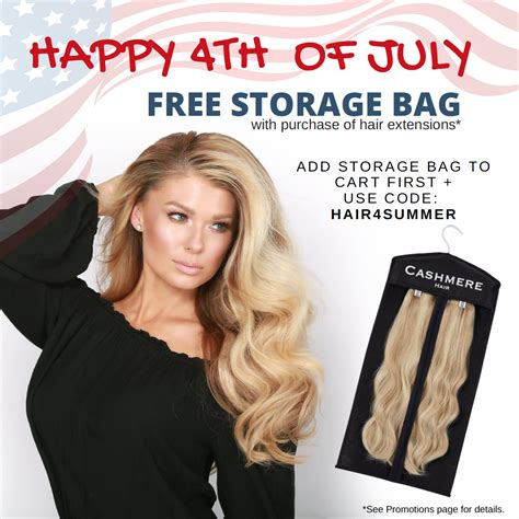 cashmere hair extension coupon promo code 4th of july coupon code free storage bag cashmere hair