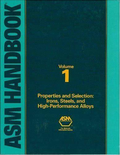 morel e486 ebook pdf ebook asm handbook volume 1