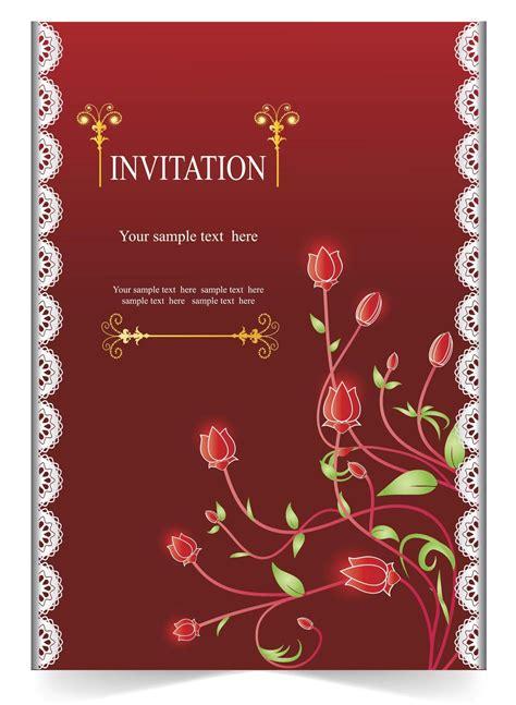 For Invitation Card