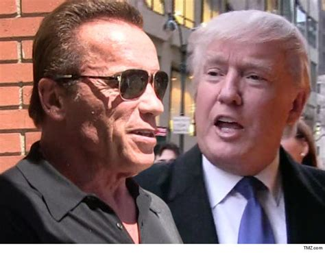 Peter Dunham by Arnold Schwarzenegger Fires Income Tax Shot Across Trump S