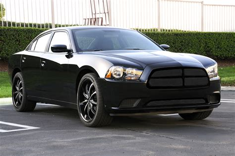 2014 charger black 2011 2014 charger black grille w formed mesh