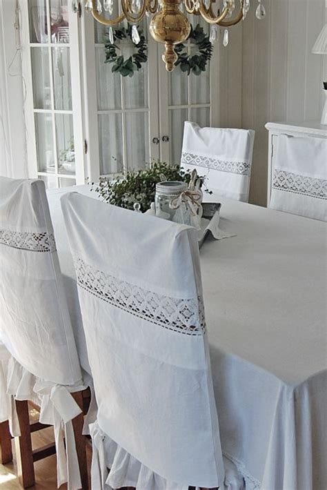 vintage dining room chair covers vintage pillowcases used to make cover for chairs idea for