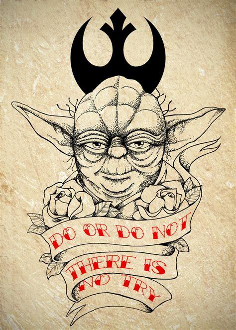 Yoda Old School Tattoo | master yoda tattoo commission by chronokhalil on deviantart
