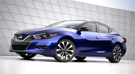 Official: 2016 Nissan Maxima