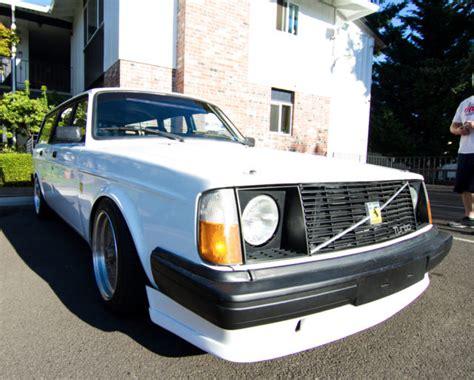 volvo 240 coilovers volvo 240 wagon 5spd turbo 300horsepwer slammed coilovers