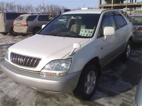 pictures of toyota harrier 2001 toyota harrier pictures