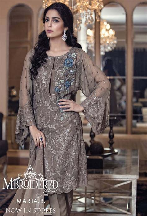 maria  latest embroidered luxury dresses collection