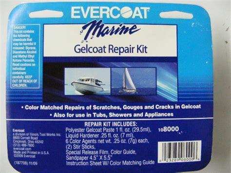 boat gel coat repair kit evercoat fiberglass gelcoat repair kit boat hull bathtub